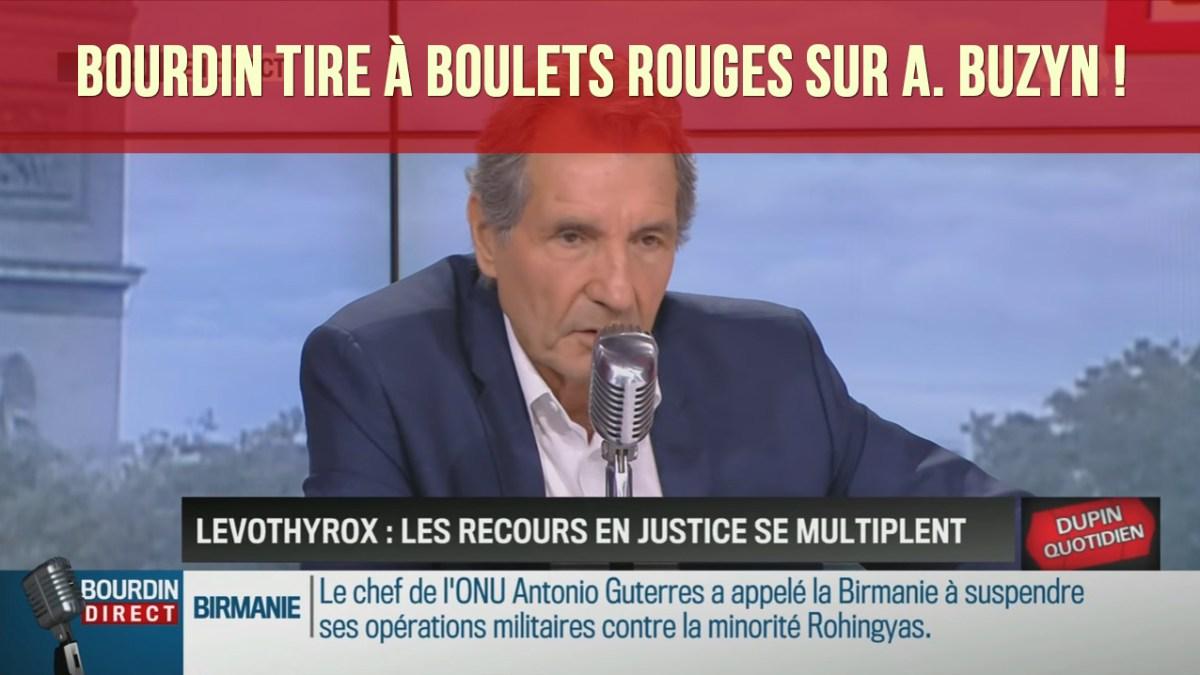 Scandale du Levothyrox : Bourdin s'en prend à la salariée de Big Pharma Agnès Buzyn !