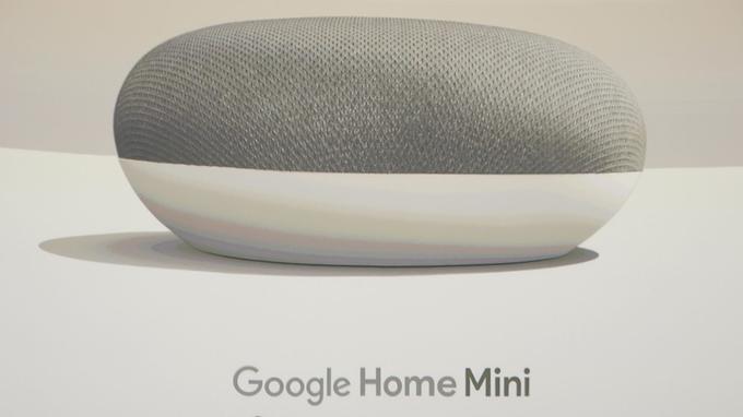 l enceinte connect e google home mini espionnait ses. Black Bedroom Furniture Sets. Home Design Ideas