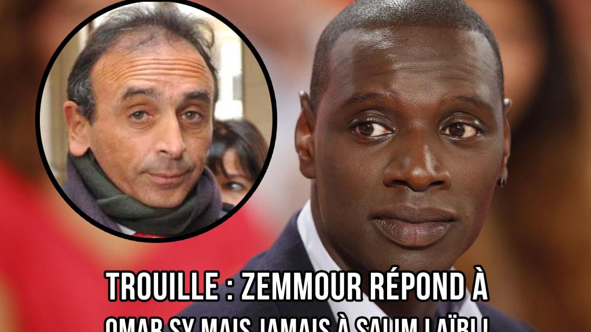 Trouille : Zemmour répond à Omar Sy mais jamais à Salim Laïbi !