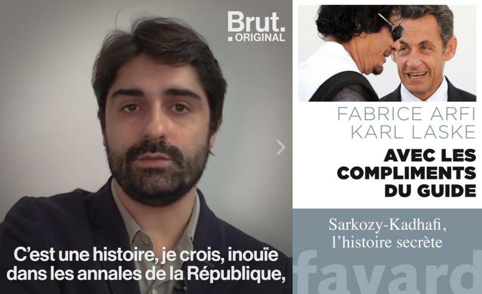 Complot qui passe bien : Fabrice Arfi sur les liens entre Sarközy et Kadhafi !