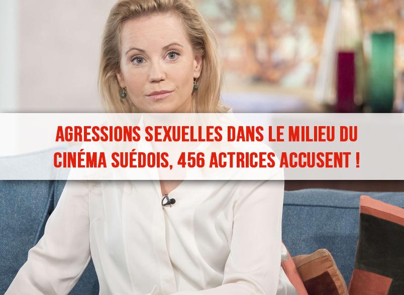 Agressions sexuelles dans le milieu du cinéma suédois, 456 actrices accusent !