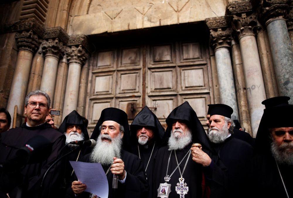 L'église du Saint-Sépulcre fermée pour protester contre Israël