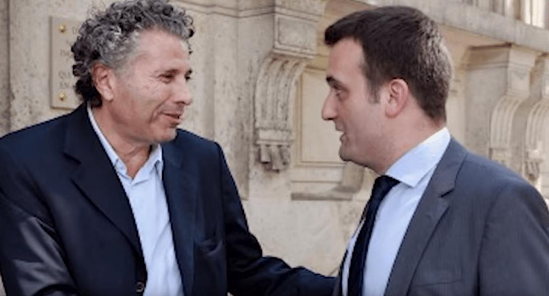Philippot et son mentor sioniste Goldnadel chez Ardisson