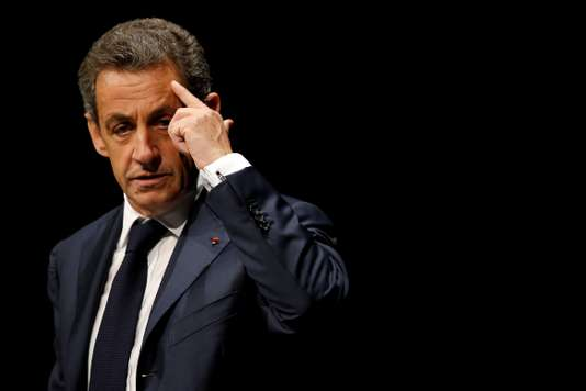 FILE PHOTO: Nicolas Sarkozy, former head of the Les Republicains political party, attends a Les Republicains (LR) public meeting in Les Sables d'Olonne, France, October 1, 2016. REUTERS/Stephane Mahe/File Photo