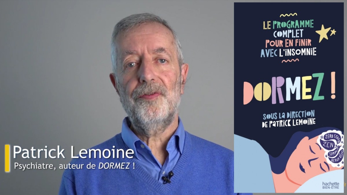 Lecture : le Dr Patrick Lemoine nous explique comment bien dormir