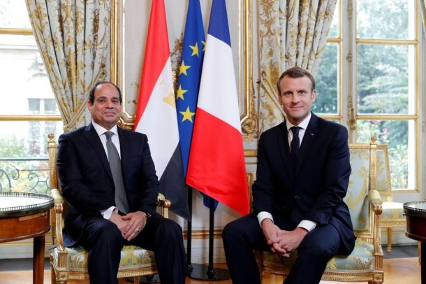 Macron-Sissi
