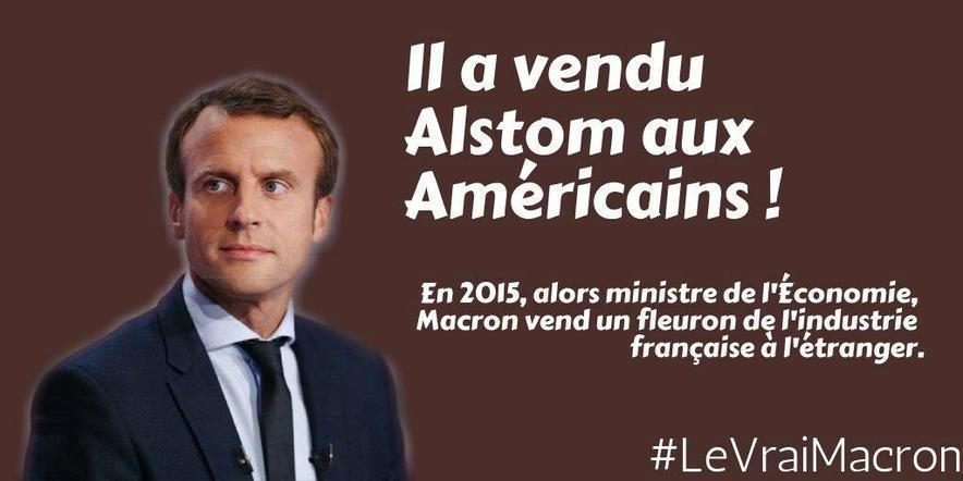 Le double jeu de Macron dans la vente d'Alstom à General Electric