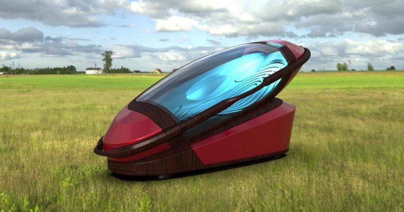 Sarco : une étrange capsule pour mourir tranquille