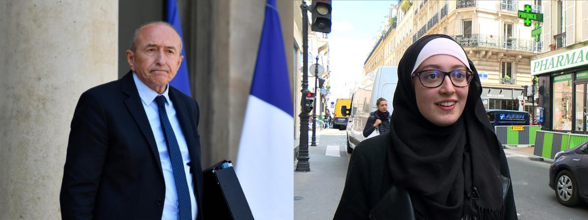 Gérard Collomb trouve « choquant » qu'une dirigeante de l'Unef soit voilée