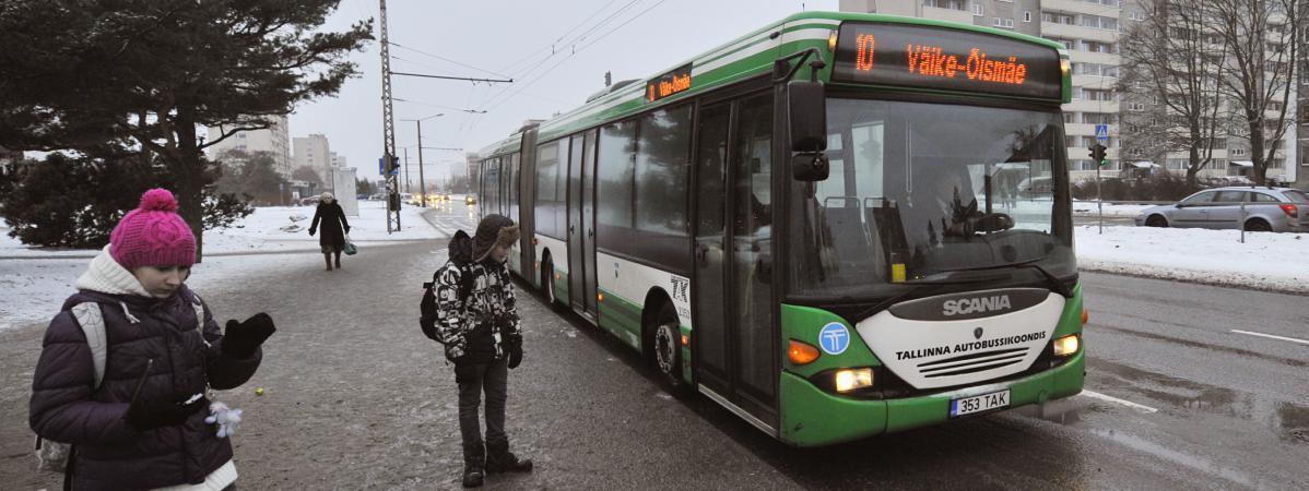 L'Estonie opte pour des transports en commun gratuits dans tout le pays