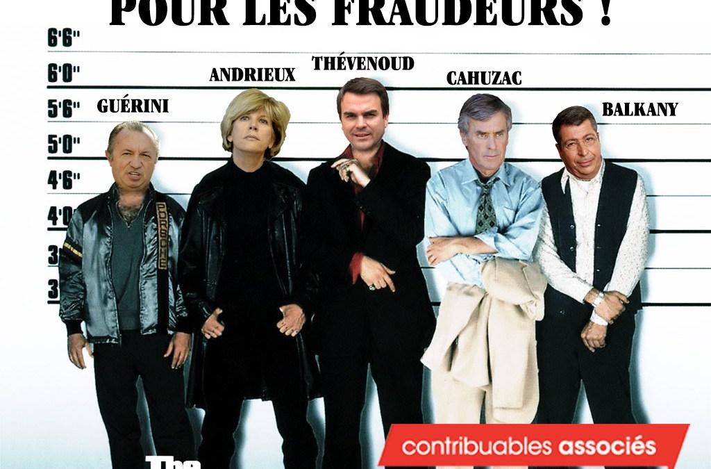 La France, pays qui compte le plus d'hommes politiques corrompus en Occident !