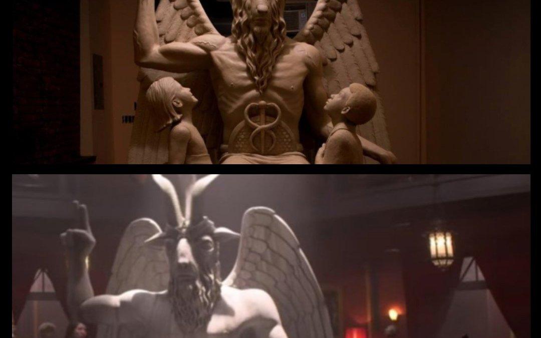 Une organisation satanique porte plainte contre Netflix à cause d'une statue