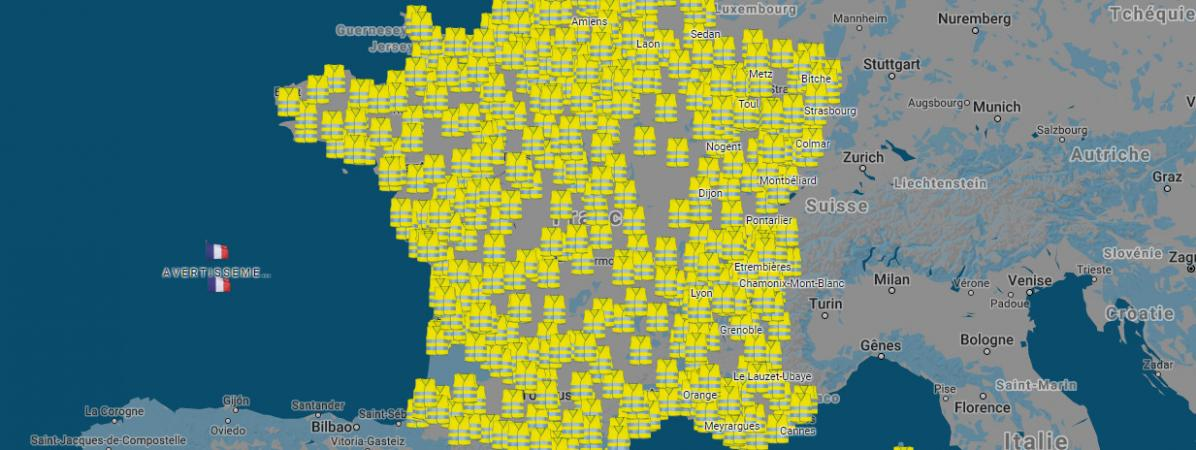 Soutien total au mouvement national des « gilets jaunes » le 17 novembre
