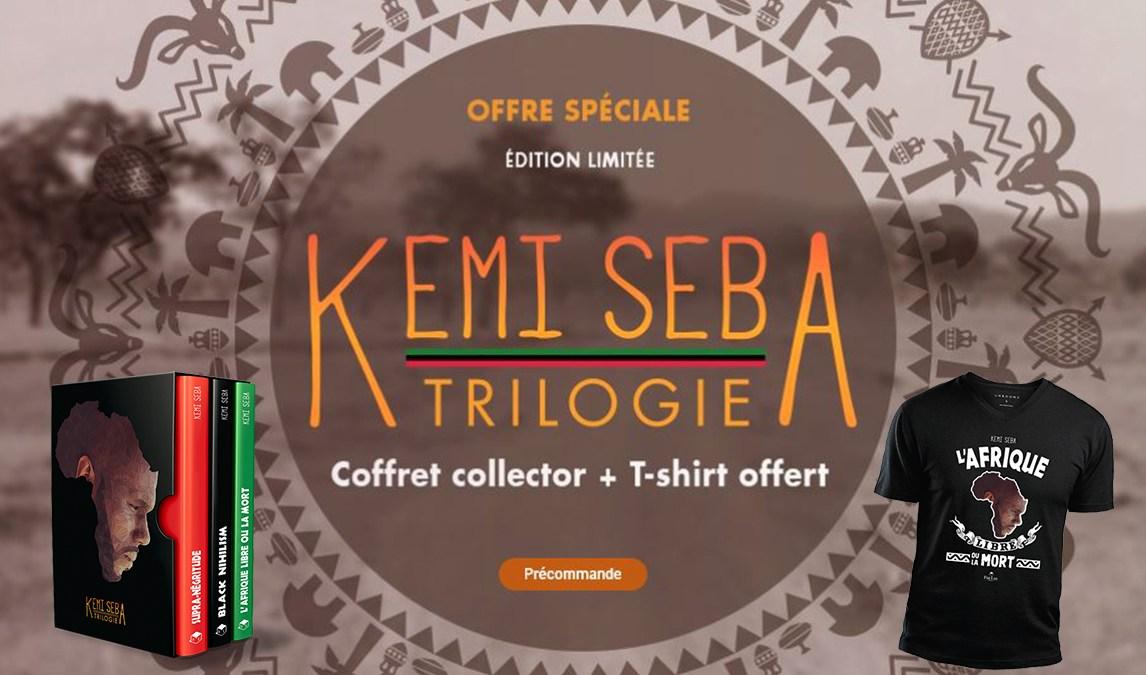 Trilogie Kemi Seba : coffret collector + un t-shirt offert