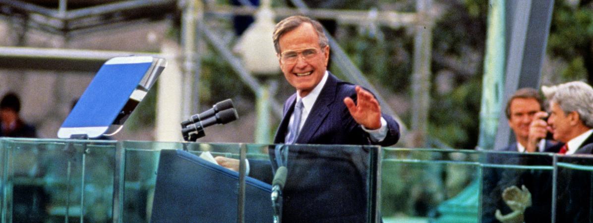 L'ancien président yankee H.W. Bush est mort, un Skull & Bones en moins !