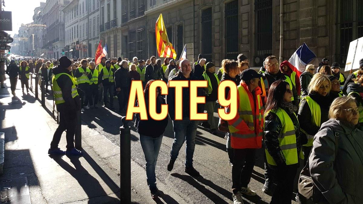 Acte 9 : les #GiletsJaunes décentralisent le prochain rendez-vous du 12 janvier