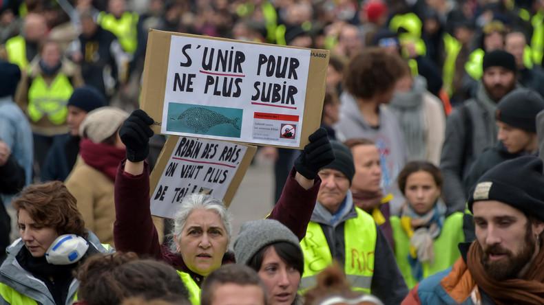 L'Acte 10 des #Gilets jaunes à Toulouse