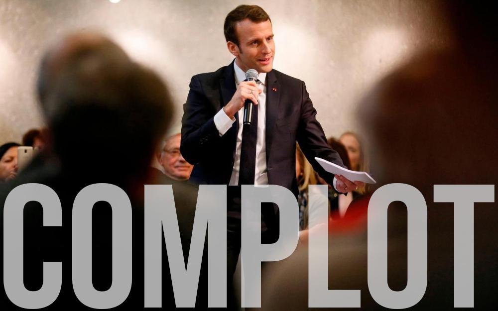 Macron le complotiste schizophrène !