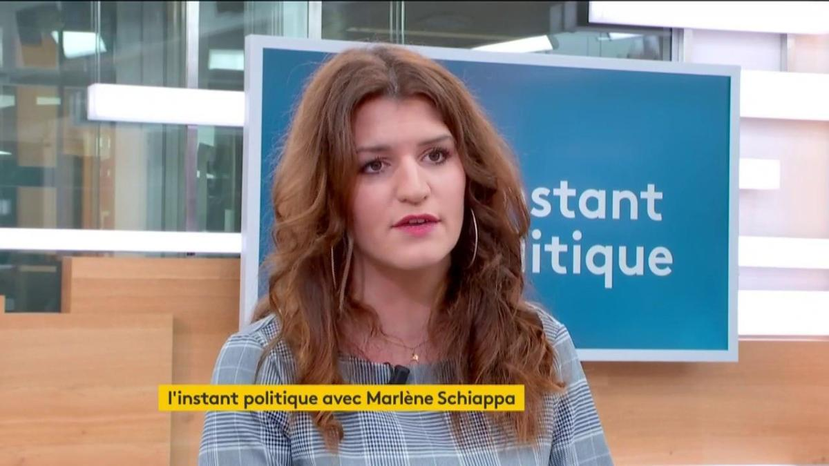 On marche sur la tête  : Marlène Schiappa dérape et s'enfonce concernant la cagnotte de Christophe Dettinger !