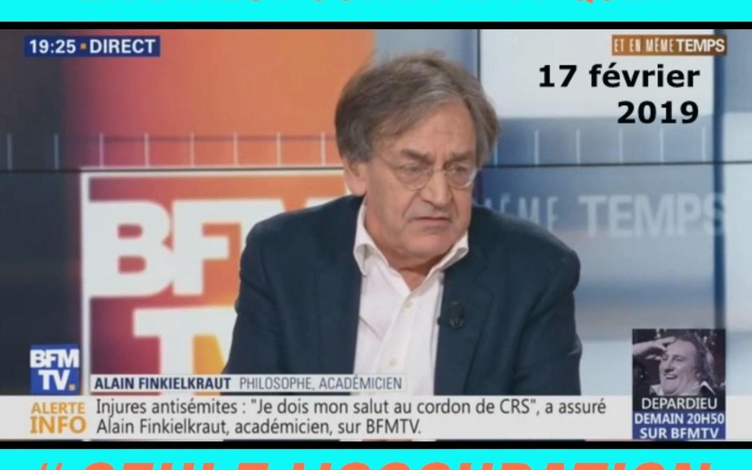 Alain Finkielkraut affirme que l'on peut «haïr» la colonisation !