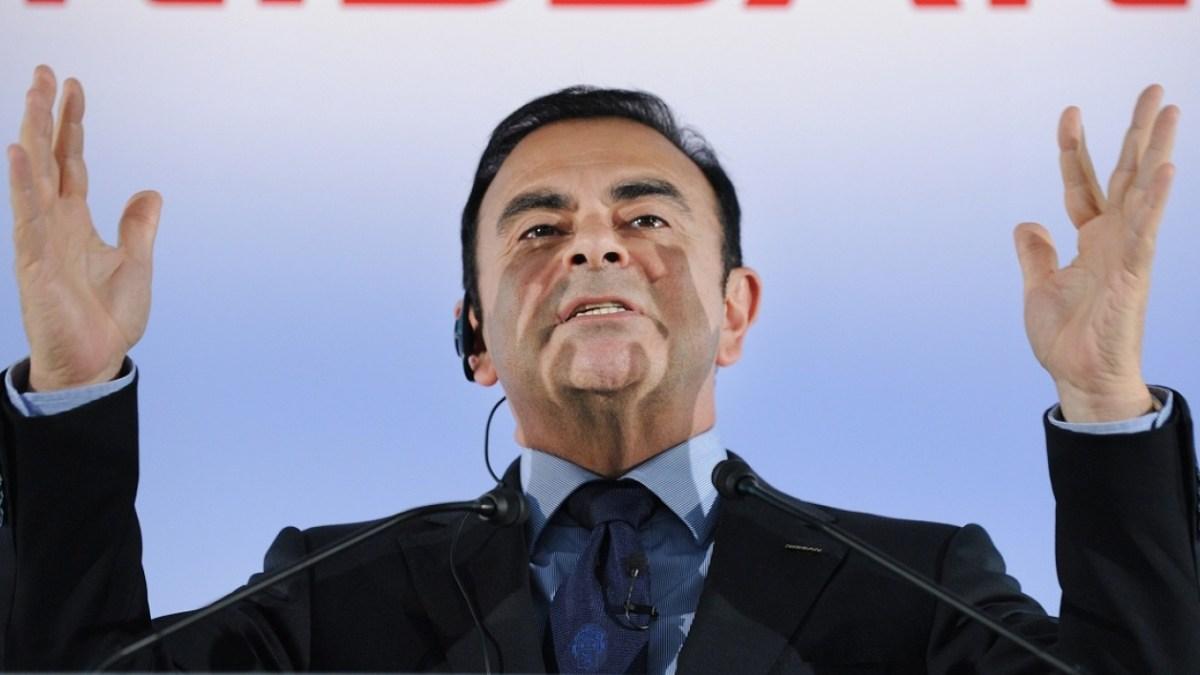 Carlos Ghosn perd son indemnité, soit 25 millions d'euros !
