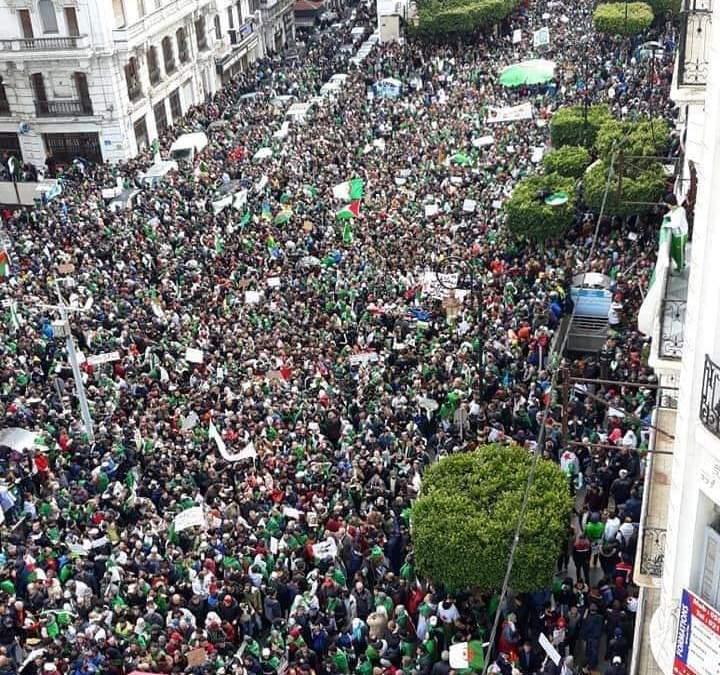 Algérie : 5e manifestation historique contre le système Bouteflika ce 22 mars 2019 !