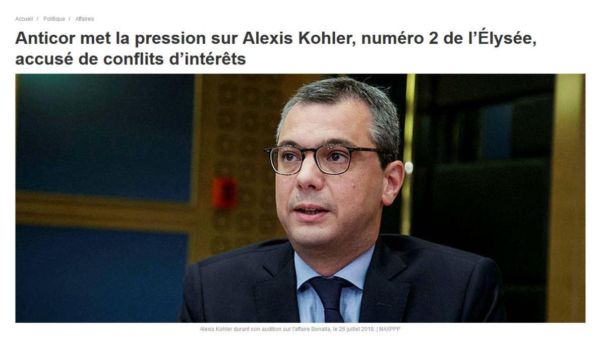 Alexis Kohler, nouveau membre du Conspiracy club !