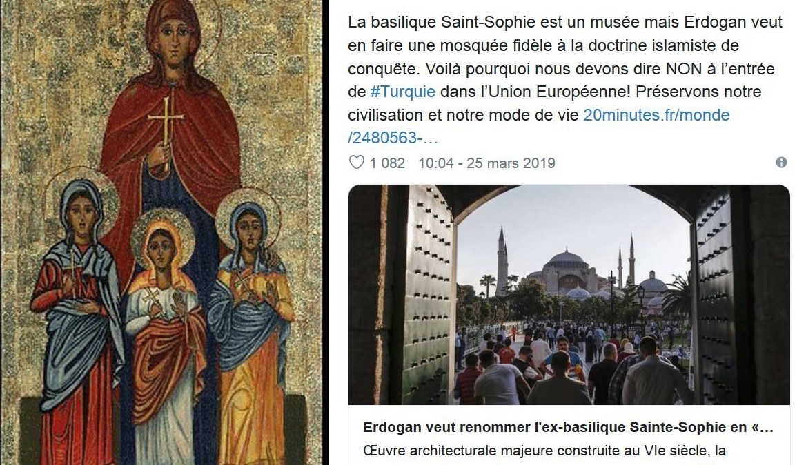 La haine islamophobe de Lydia Guirous n'a pas de limites !