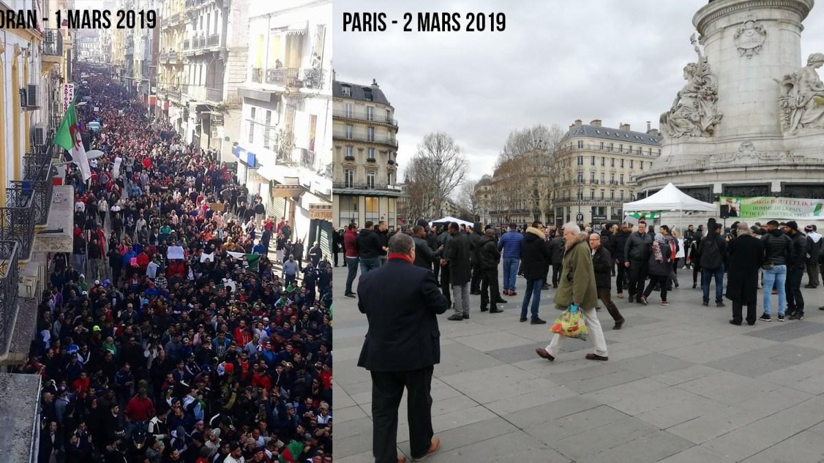 Manif de soutien « monstre » pour Bouteflika à Paris… ou pas !