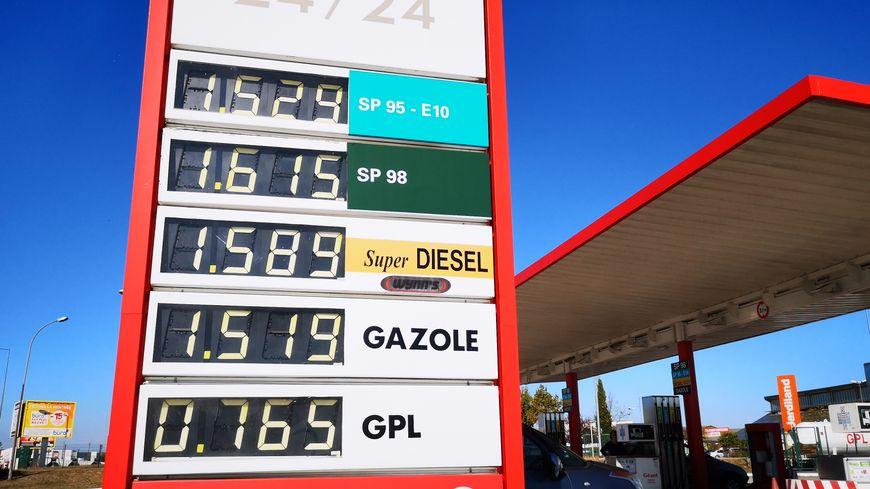 #GiletsJaunes : le prix des carburants est au plus haut depuis 6 ans !
