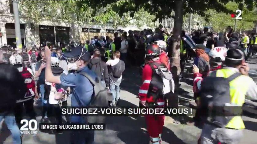 #GiletsJaunes : scandale après les appels au suicide de policiers !