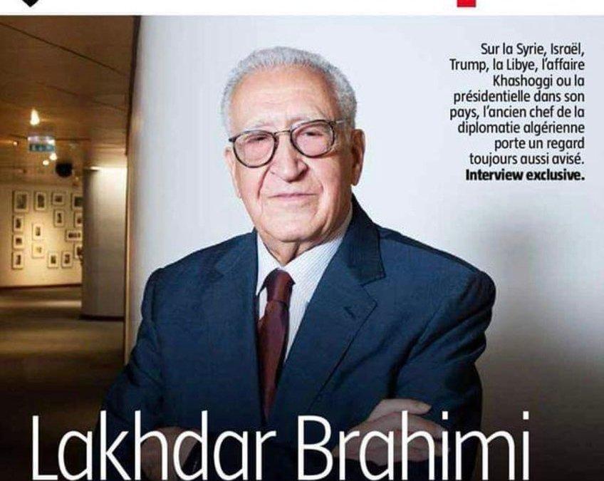Mais où est donc passé le khabith de Lakhdar Brahimi ?