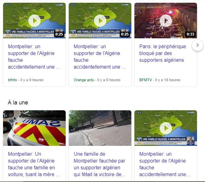Non, ce n'est pas un supporter algérien qui a causé l'accident mortel de Montpellier