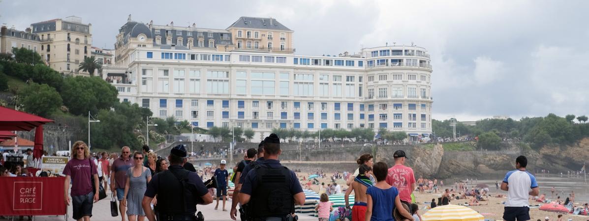 Dispositif sécuritaire dingue déployé pour le G7 à Biarritz !
