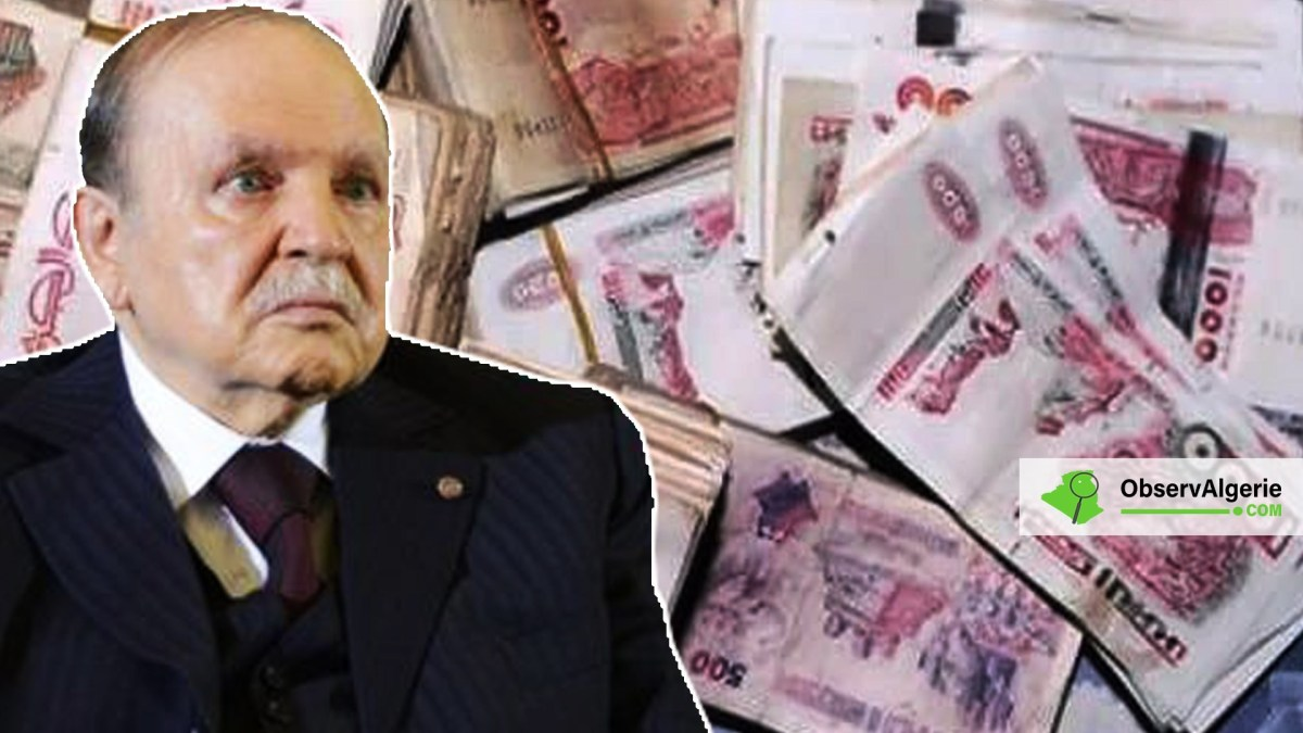 Algérie : Disparation de 585 milliards destinés à financer la campagne de Bouteflika
