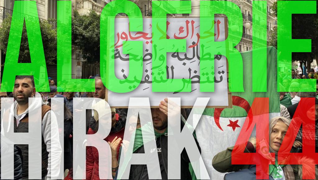Algérie : 44e Hirak massif du vendredi 20 décembre 2019 ! [vidéos + photos]