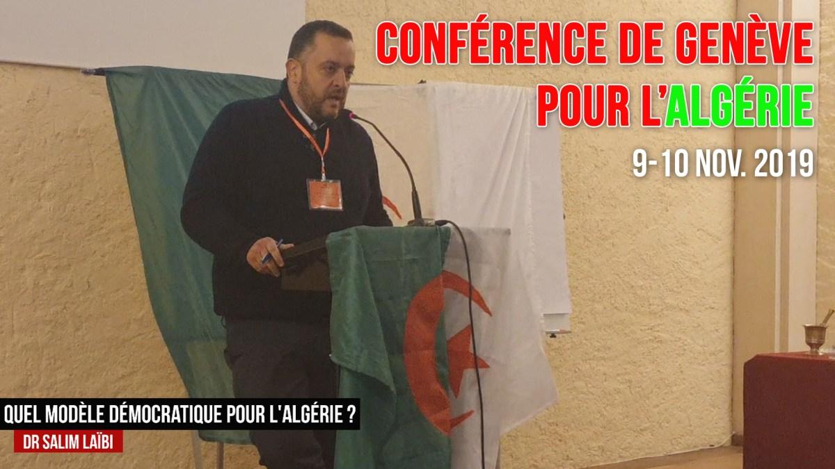 Quel modèle démocratique pour l'Algérie ? par M. Salim Laïbi