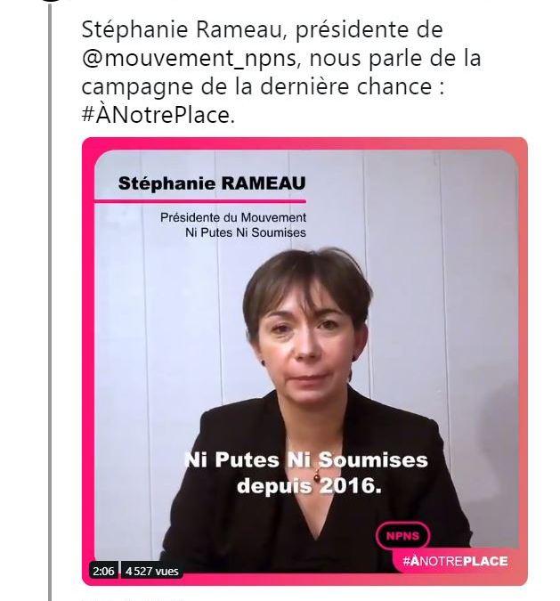 Expulsée, l'association « Ni putes ni soumises » accuse le gouvernement !