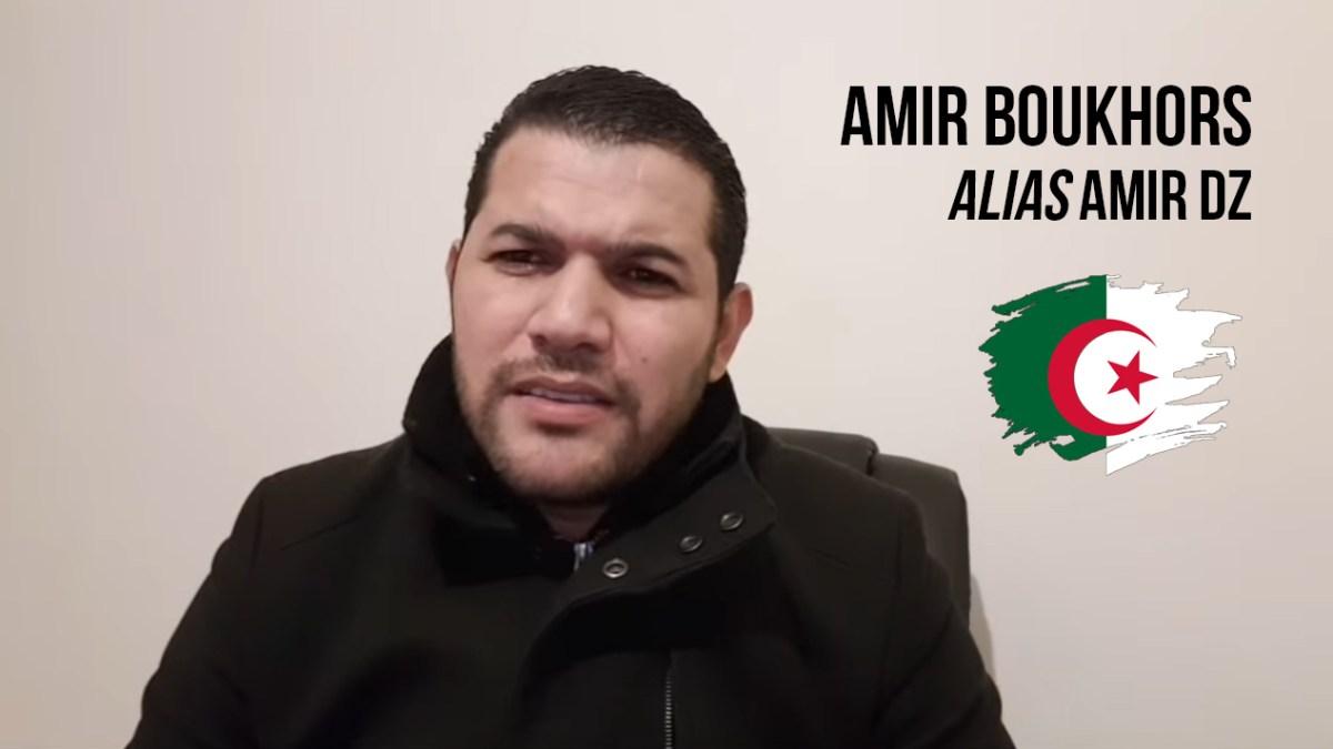 L'activiste Amir DZ arrêté par la police française contrairement aux Nezzar, Bouchouareb…