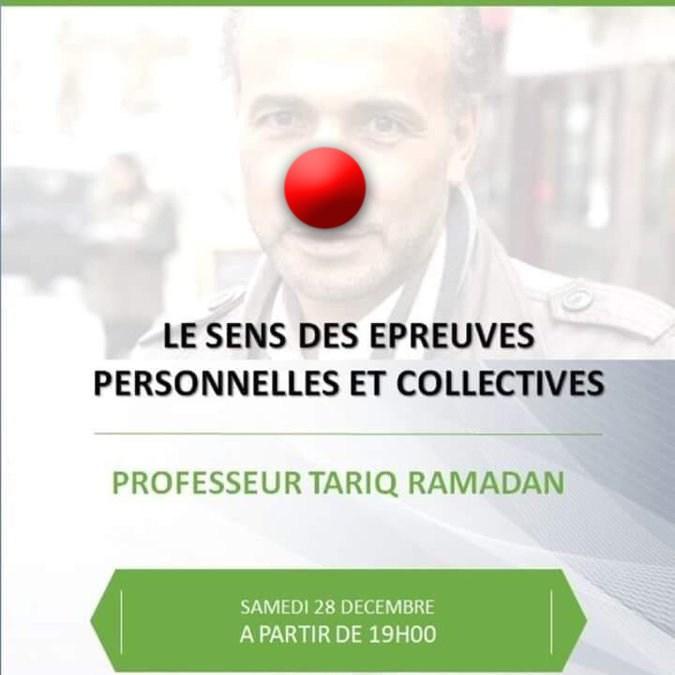 Le tartuffe Tariq Ramadan en conférence à Montpellier chez Khattabi !
