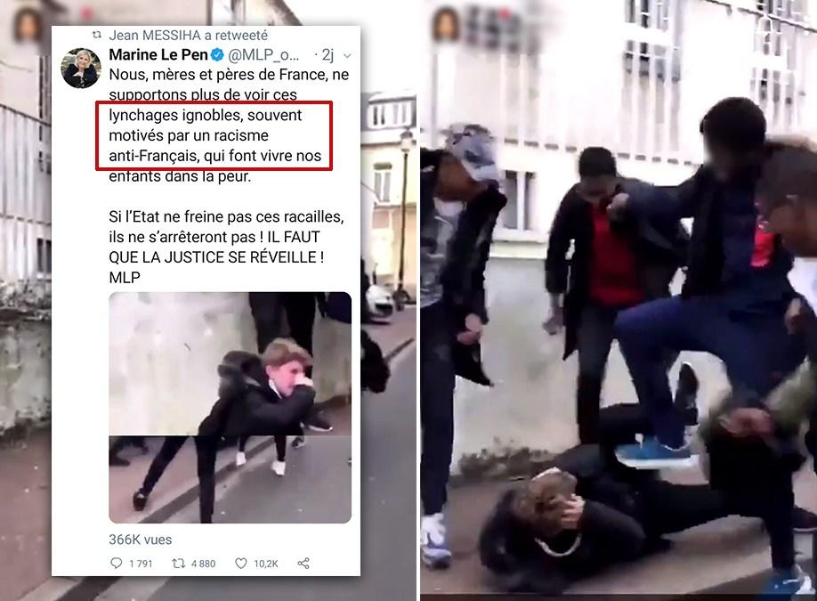 La Fake news de MLP : le « lynchage » filmé serait un gage après un jeu de ballon !