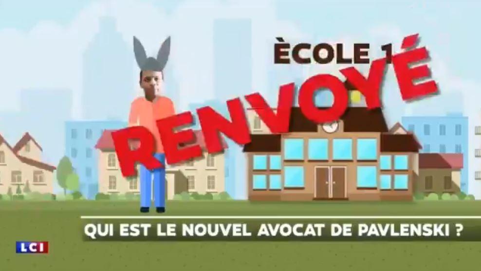 Quand LCI met un bonnet d'âne sur Me Y. Bouzrou pour expliquer son parcours scolaire !