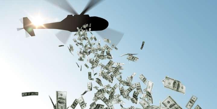 USA : qu'est-ce que l'Helicopter Money de Trump ? La planche à billet !