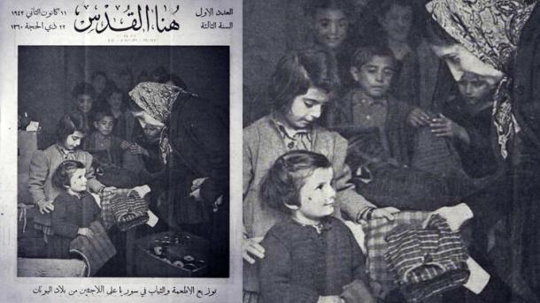 Les Grecs qui tuent aujourd'hui des migrants syriens s'étaient réfugiés en 1942 en Syrie