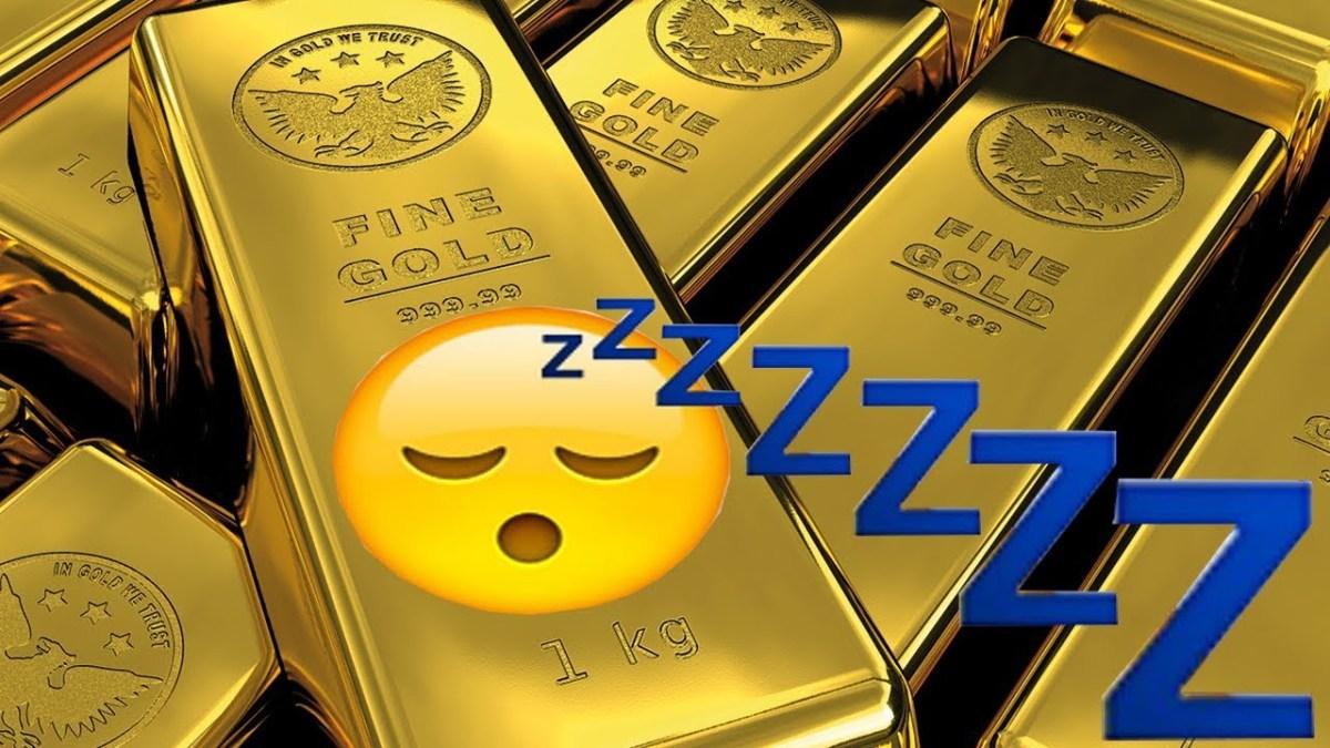 Grosse intox de Franceinfo : l'or n'est pas rentable !