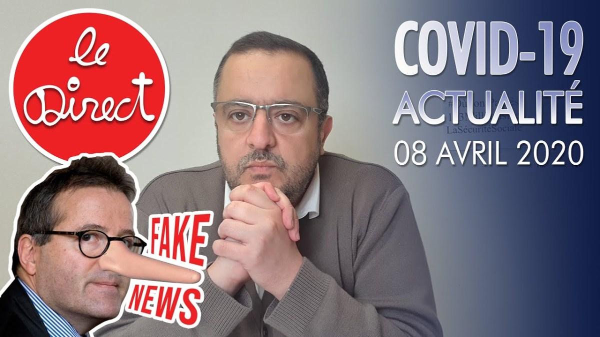 Covid-19 : Actu 08/04/20 – Des gouvernants incapables et des Mythomanes