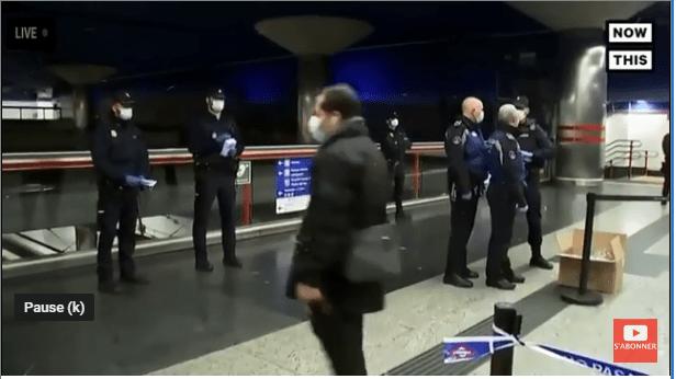 La police espagnole distribue 10 millions de masques dans les transports publics !