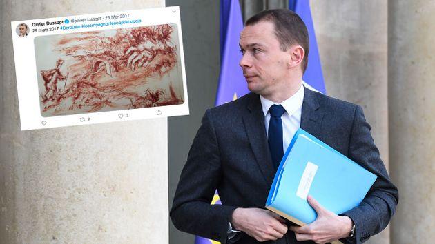 Olivier Dussopt jure qu'il va restituer deux lithographies offertes par une entreprise