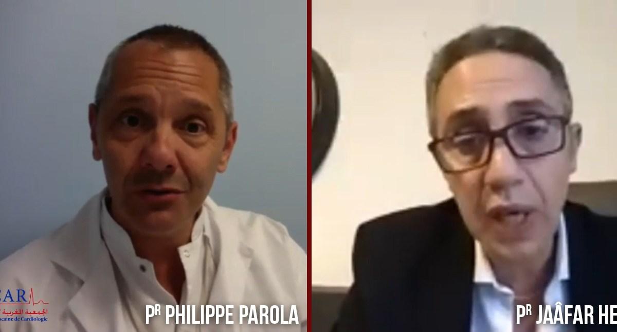 Webinaire autour du Covid-19, avec les Prs Philippe Parola et Jaâfar Heikel