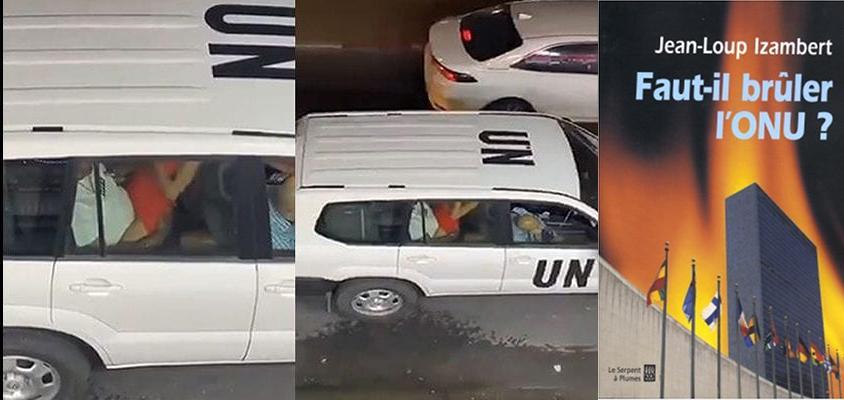 Scandale en israël : des employés de l'ONU filmés en pleins ébats sexuels dans un véhicule des Nations-Unies